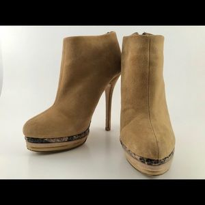 Charles by Charles David Dante Suede Ankle Bootie